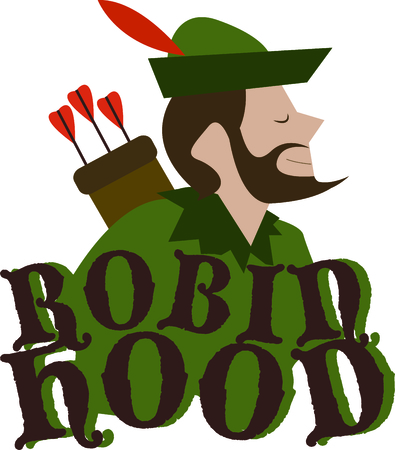 rich people: Robin Hood is a wonderful design for a fantasy project.