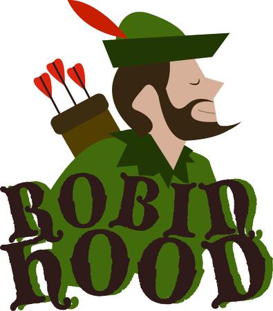 robin hood: Robin Hood is a wonderful design for a fantasy project.