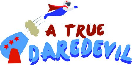 trapeze: Use this human cannonball for a fun circus  or project.