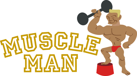 strongest: What a fun addition to a circus theme! Use the strongest man alive on your circus project.