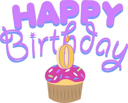 誕生日ケーキを持つ新生児を祝います。