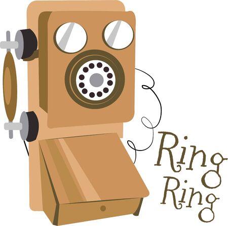 Décorez votre maison avec un téléphone vintage. Banque d'images - 44918535