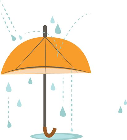 Make a rainy day project with an umbrella design.