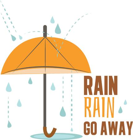 gamp: Make a rainy day project with an umbrella design.