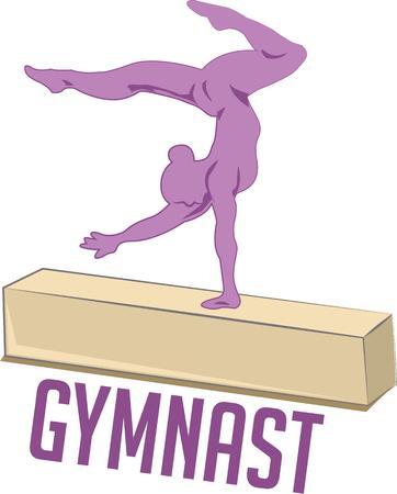 gymnasts: Gymnasts will love a balance beam design.