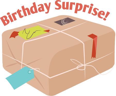 Questo pacchetto può essere un dono speciale. Archivio Fotografico - 44918551