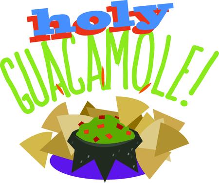 Guacamole Clipart