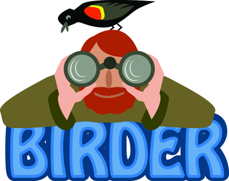 watcher: The perfect gift to give to a bird watcher.  They will love it!