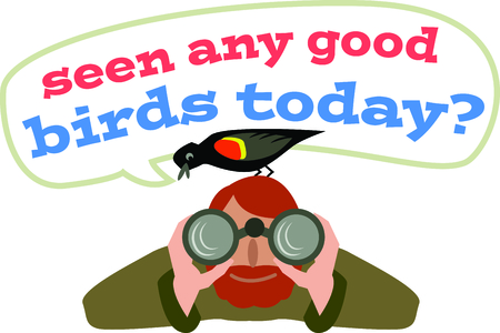 bird watcher: The perfect gift to give to a bird watcher.  They will love it!