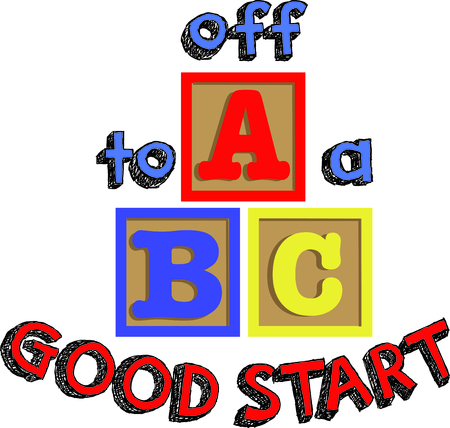 uppercase: ABC blocks are always found in a toddlers room.  Add these to shirts for them to wear.