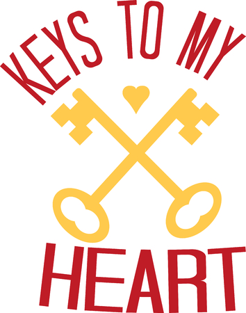 neat: The perfect logo to promote your locksmith business. A neat design from Ann The Gran.