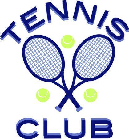 このテニスのデザインを使用して、楽しいポロシャツです。  イラスト・ベクター素材