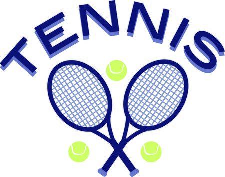 Use this tennis design for a fun polo shirt. 向量圖像