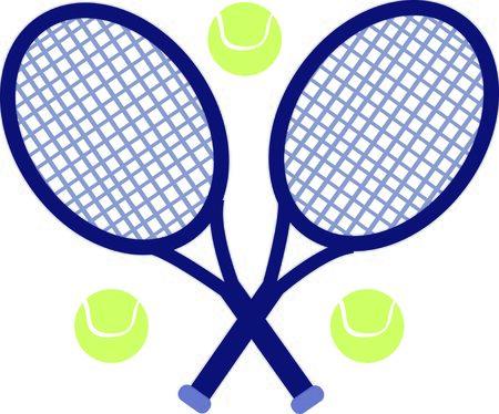 Verwenden Sie diese Tennisentwurf für ein lustiges Polo-Shirt. Standard-Bild - 44920211