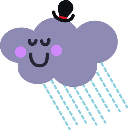この幸せの雲は幼児のシャツかわいいです。 写真素材 - 44920236