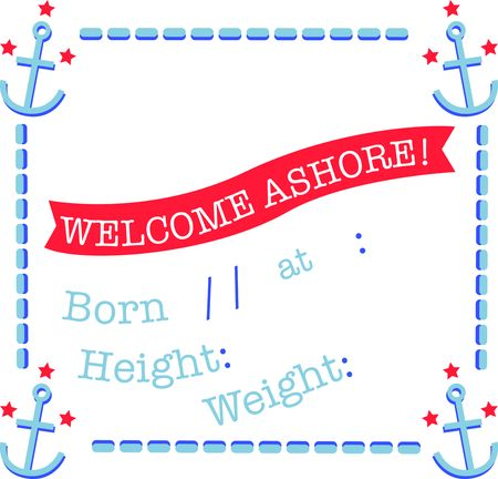new born: Use this anchor design on a baby blanket for a new born.