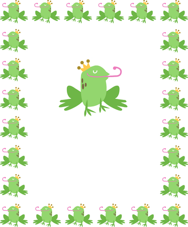 new born baby: Use this handsome frog for a fun fairy tale new born baby blanket.
