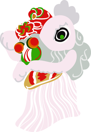 Happy Chinese New Year with this lion design for your next project.