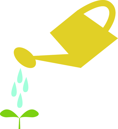 Show off your green thumb with a little seedling. Ilustração