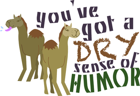 hump: Gli amanti degli animali potranno godere di questo disegno cammello. Vettoriali