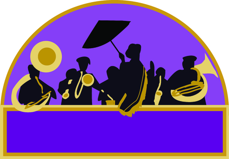 french culture: Use these French Quarter band for your favorite jazz musician.
