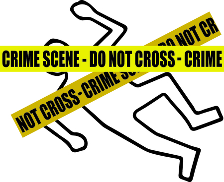 crime scene do not cross: Spread the message to end gun violence with this design on framed embroidery, clothing and more!