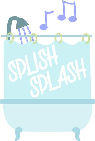목욕 매트, 샤워 커튼 등의 기발한 디자인으로 목욕탕에서 환영 분위기를 조성하십시오!