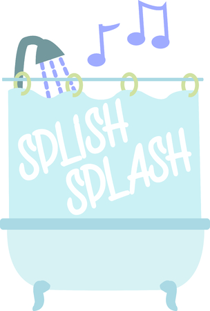 mats: Set a welcoming tone in your  bath with this whimsical design on bath mats, shower curtains and more!