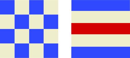 Un design parfait pour votre marin, plaisancier ou un amant de toutes choses broder nautique sur les vêtements, serviettes, des bannières, des drapeaux ou des tentures murales. Banque d'images - 46349099
