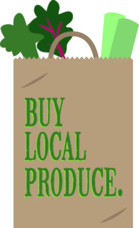poke: This charming design will make great design for farm-themed projects and on tote bags for the grocery store or farmers market!