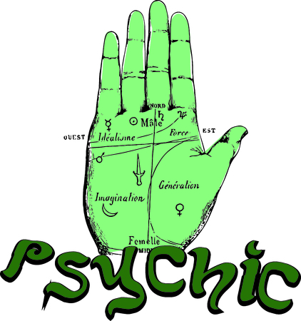 psychic: Spark your imagination!  This whimsical design will be perfect on framed embroidery, throw pillows, napkins and more!