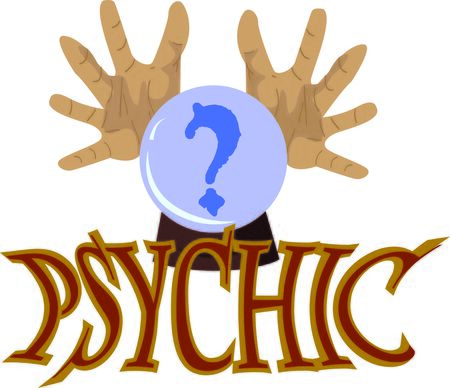 psychic: Demystify the mystifying oracle with this design on throw pillows, framed embroidery and more!