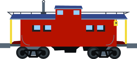 caboose: Full steam ahead!  Enjoy the countryside as you go and get this design on t-shirts, posters, coffee mugs, framed embroidery and more.