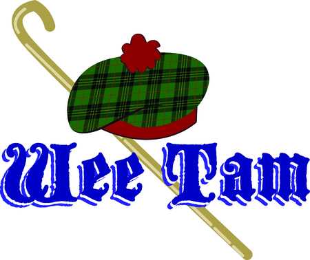 european culture: Celebrate Scotland and your Scottish heritage with this design on your holiday projects.