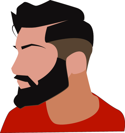 room to let: Do not mess with the mustache and beard!  This swag hipster design will look good on apparel, room decor and much more.  Let your imagination fly.
