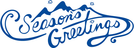 season: Get in the holiday spirit with this pretty seasons greetings design!  Stitch this onto shirt or home decor.
