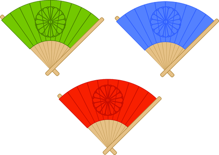 These beautiful hand fans are steeped in culture and tradition.  Enhance your table settings with this design on tablecloths, napkins, place mats and more.