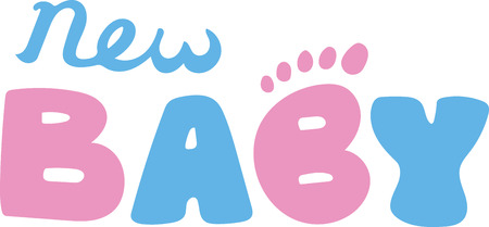 Looking to add style to your baby's nursery?  This design is perfect on nursery furniture and decor! 일러스트