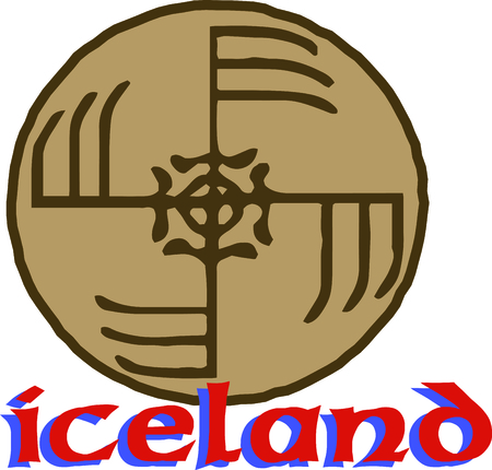 credited: By far the most important symbol of Iceland, this is credited with magical effects and is perfect on framed embroidery, throw pillows and more!