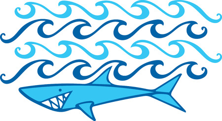 brolly: Saddle up for a close encounter with the seas most captivating creatures with this design on your home projects. Illustration
