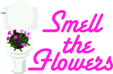 loo: Flowers add unique style and cheer to any space.  Get the spirit of spring on your projects with this design.