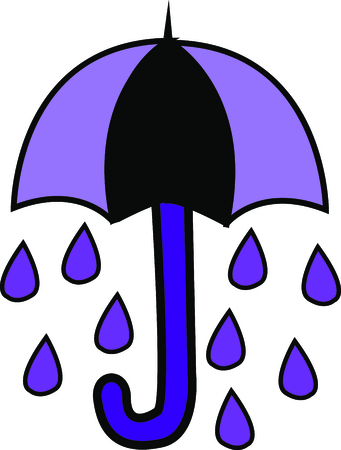 brolly: Mark the beginning of spring with this design on clothes, household linen, throw pillows and more.