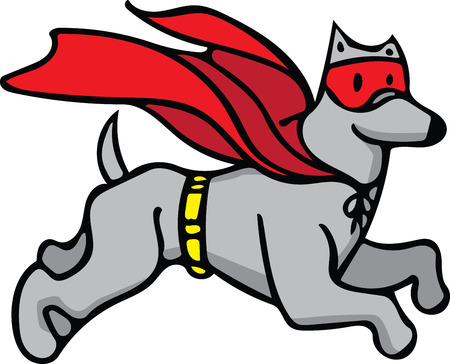 super dog: Prepare to have a hauntingly delightful Halloween with this design on t-shirts, hoodies, hats, warm-ups and more for the little ones!