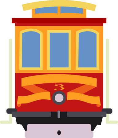 このデザインできちんとしたトロリー、サンフランシスコのあなたの愛を表示します。これは、t シャツ、パーカー、バナー、トートバッグに大きな