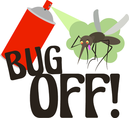 Exterminators will enjoy this bug spray design. This will look great on t-shirts, hoodies, jackets, tote bags and more.