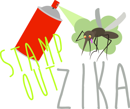 Stamp Out Zika with this funny design. This will look great on t-shirts, hoodies, jackets, tote bags and more.