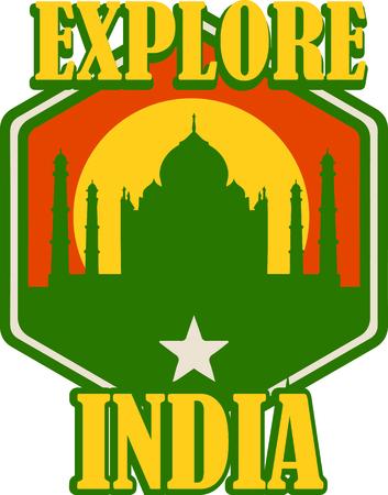 このすっきりとしたデザインとインドのあなたの愛を表示します。これは、t シャツ、パーカー、バナー、トートバッグに大きなになります。