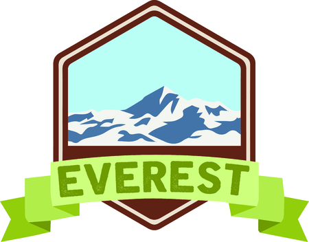 Personalize your project with this lovely Mount Everest design. This will look great on t-shirts, hoodies, banners, throw pillows, tote bags and more.