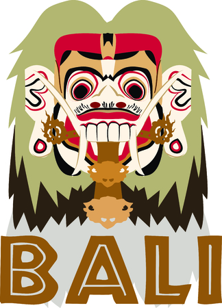 fictional character: Personalize your project with this neat Rangda Bali design. This will look great on t-shirts, hoodies, banners, tote bags and more.
