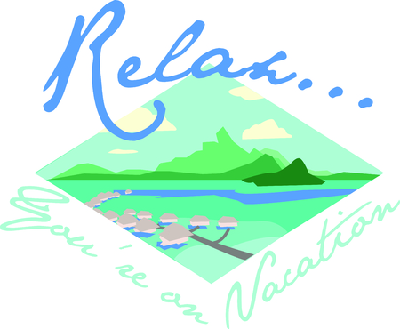 tahiti: Show off your love of Tahiti with this beautiful island design. This will look great on t-shirts, banners, beach towels, tote bags and more. Illustration